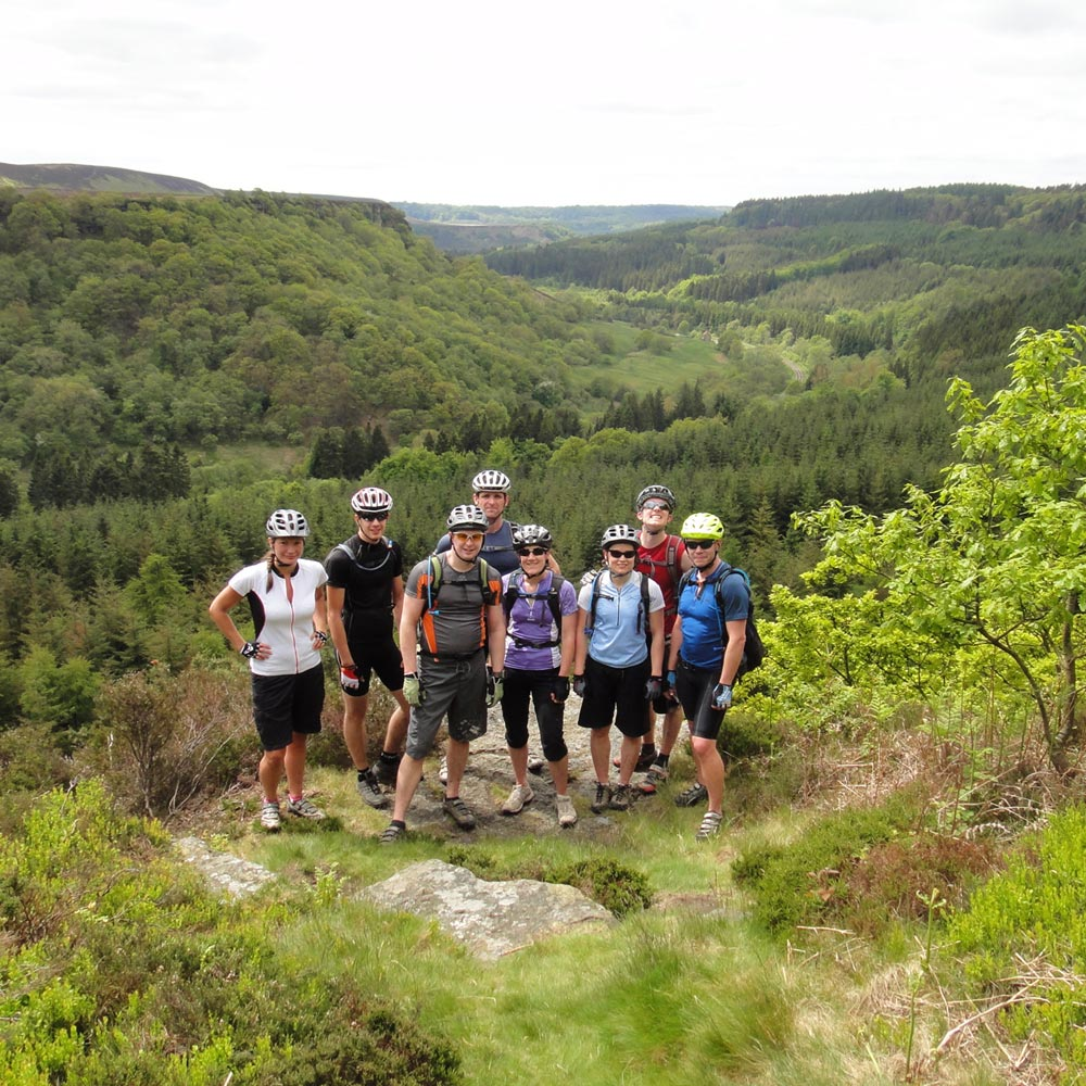 MTB guided rides