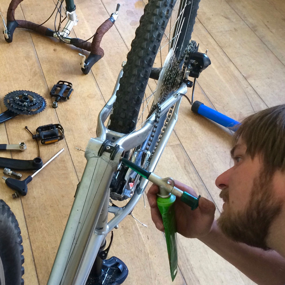 Advanced cycle maintenance courses